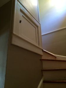 Cabinet in Stairwell